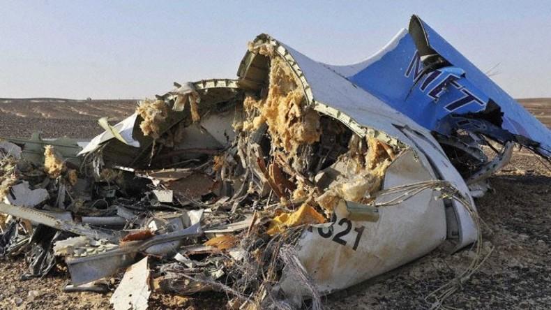 Ursache für A321-Absturz über Sinai ist geklärt: Bombe im Gepäckraum