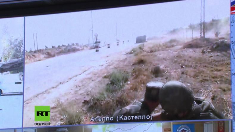 Aleppo: Russische Soldaten während Videokonferenz mit Verteidigungsministerium angegriffen