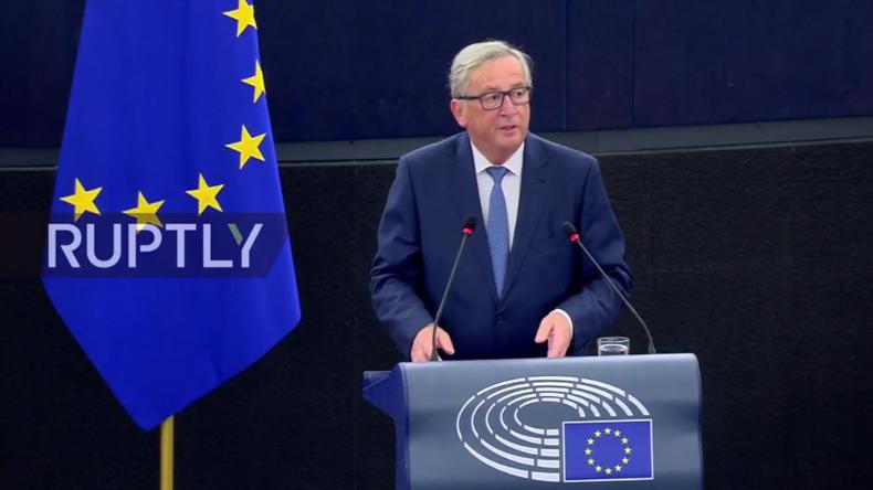 """Live: Jean-Claude Juncker hält """"Rede zur Lage der Union"""""""