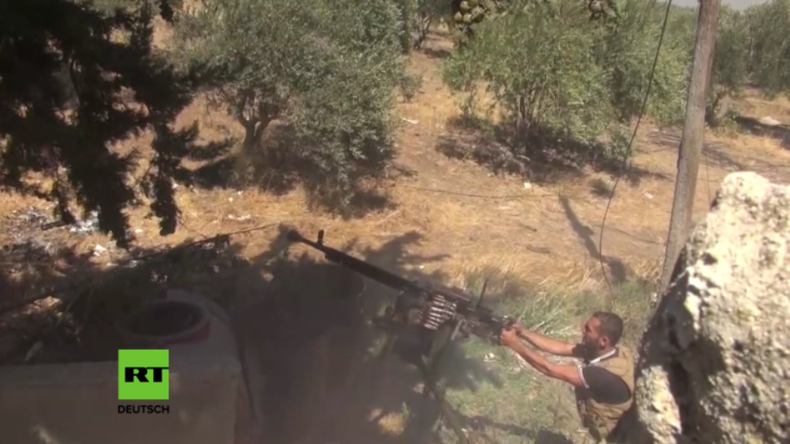 Schwere Kämpfe zwischen syrischer Armee und Anti-Regierungs-Kräften an israelisch-syrischer Grenze