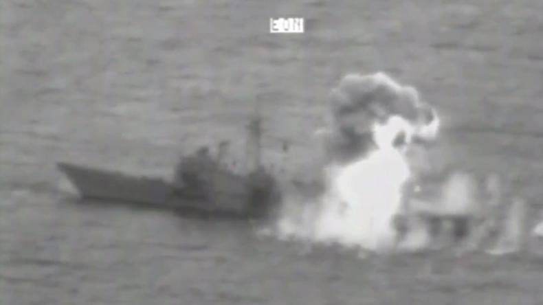"""Fregatte """"USS RENTZ"""" während US-Marineübungen bei Guam versenkt"""