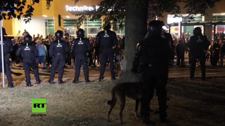 Pulverfass Bautzen: Nach Krawallnacht - Ausgangssperre für Flüchtlinge und massive Polizeipräsenz