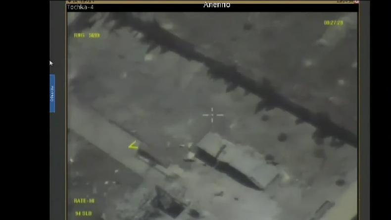 Live-Übertragung der Situation in Aleppo mit Drohnenaufnahmen in Echtzeit