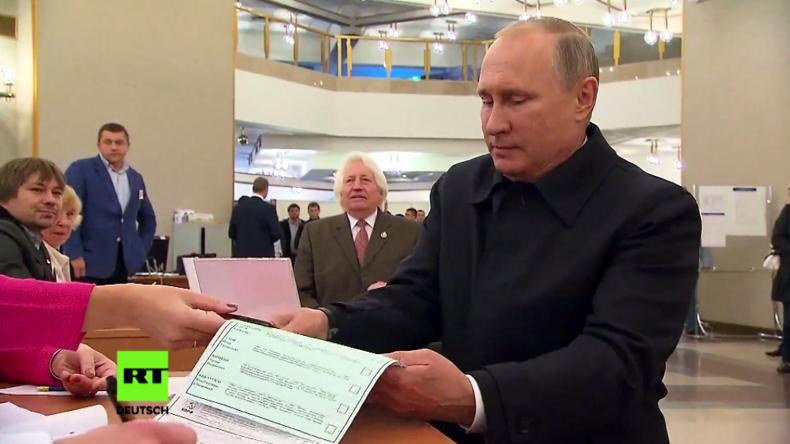 Duma Wahl 2016: Auch Putin geht wählen