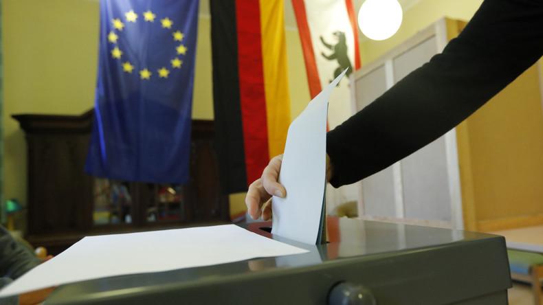 Der lange Berliner Wahlabend auf RT Deutsch.
