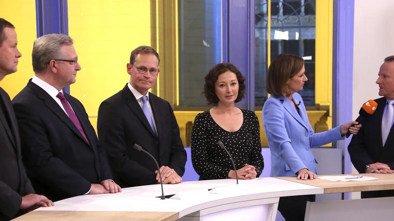 Altparteien abgeraucht: Deutschland im Fünf-Parteien-System