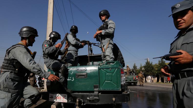 Afghanistan: US-Luftangriffe töten mindestens acht Polizisten