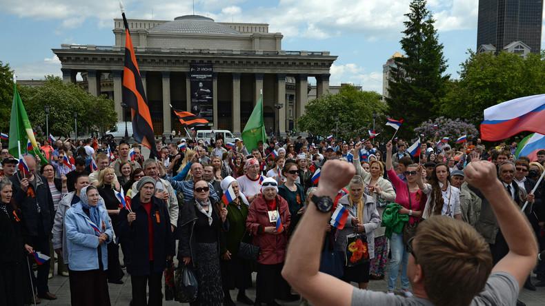 Umfrage zu russischem Protestpotenzial: Wenig Interesse an politisch motivierten Demonstrationen