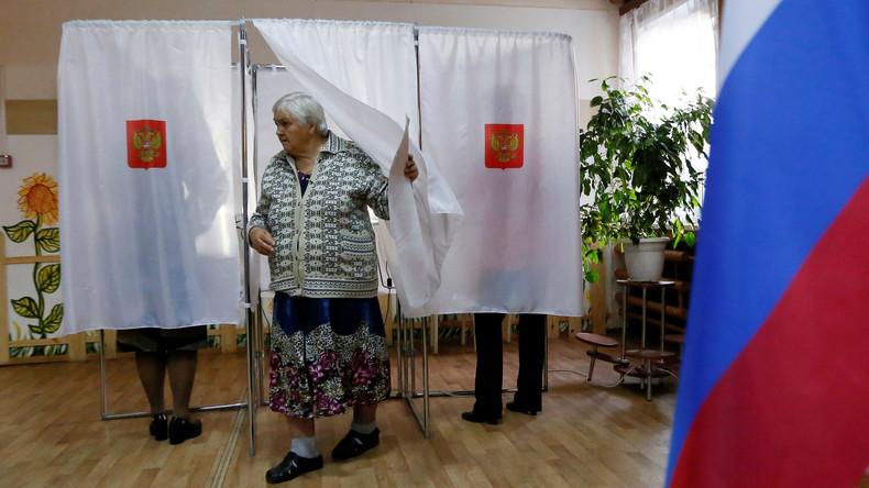 """Duma-Wahlen: Haushoher Sieg für """"Einiges Russland"""", Fälschungsvorwürfe und 53% Nichtwähler"""