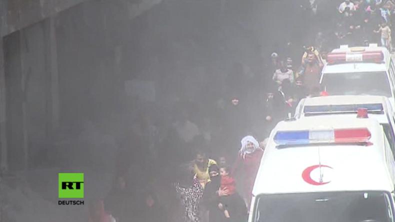 Aleppo unter Feuer nach Ende der Waffenruhe in Syrien – Menschen fliehen vor Beschuss