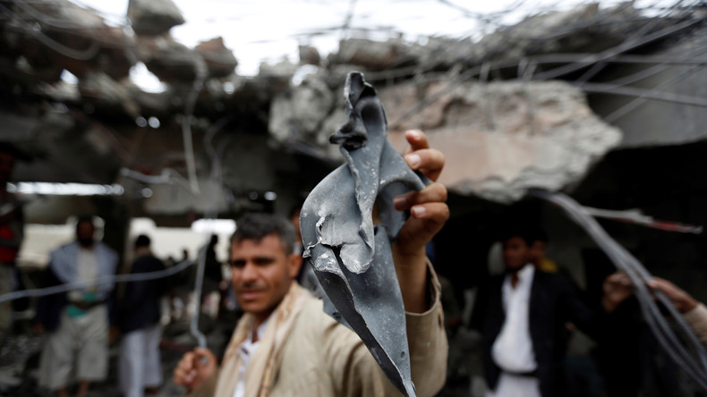 Amnesty International: Saudi-Arabien bombardiert mit US-Bomben Krankenhäuser im Jemen