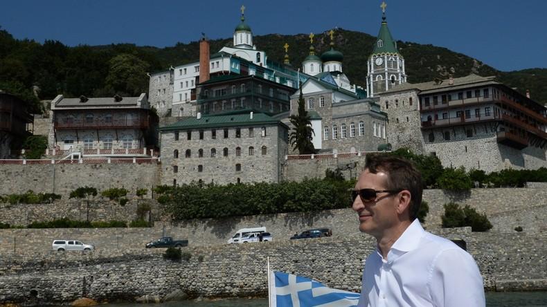 The Spectator deckt auf: Wladimir Putin lässt auf dem Berg Athos eine KGB-Mission installieren