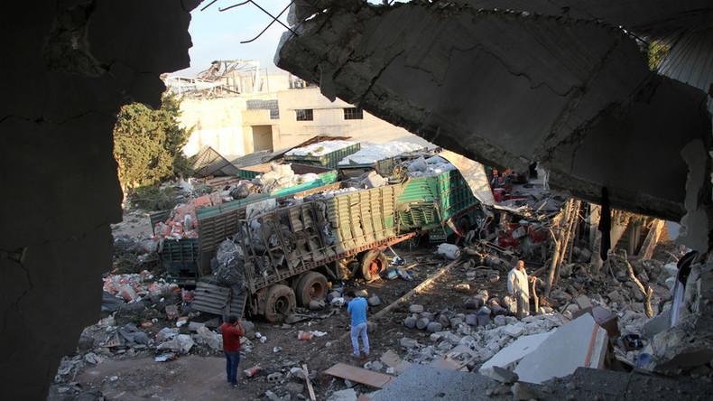 UN-Hilfskonvoi angegriffen: USA beschuldigen Russland, Moskau dementiert