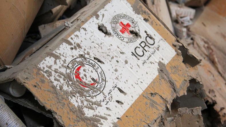 Anschlag in Aleppo: Terroristen versteckten sich hinter UN-Hilfskonvoi [Video]