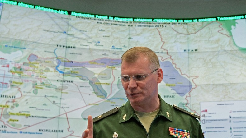 """Russisches Verteidigungsministerium: """"Wir haben keinen Hilfskonvoi angegriffen"""""""