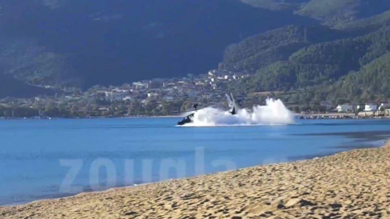 Griechenland: US-Kampfhubschrauber stürzt bei Kriegsspielen im Meer ab [VIDEO]