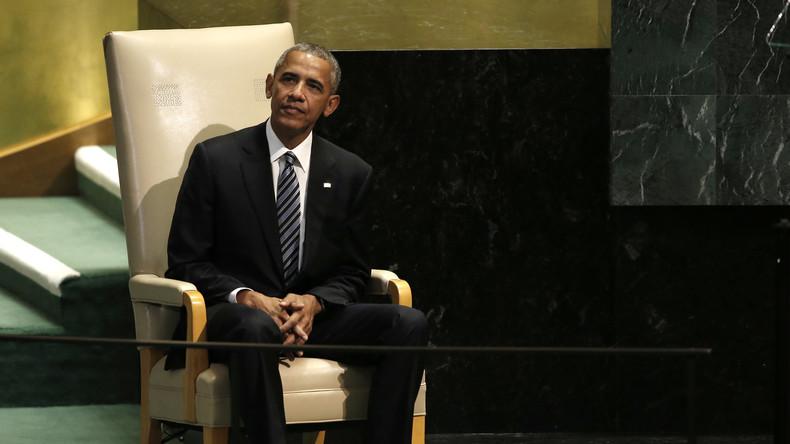US-Präsident Barack Obama bei seinem letzten Auftritt vor der UN-Generalversammlung.