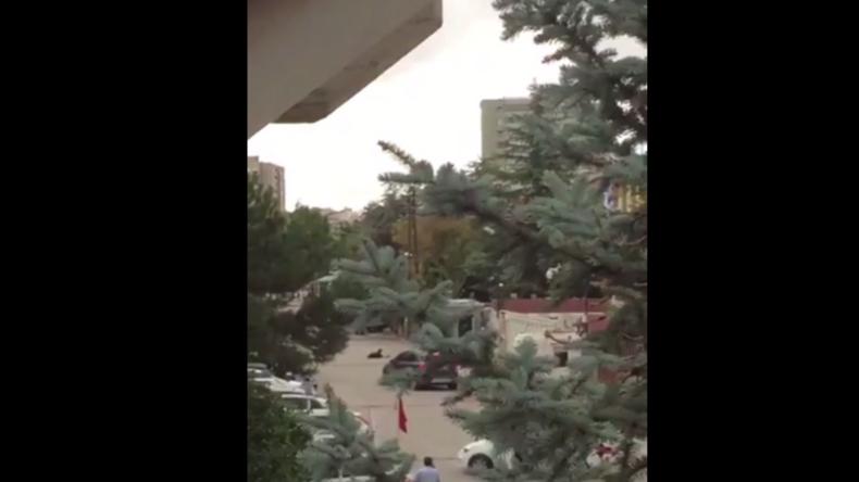 Türkei: Video zeigt angeschossenen Angreifer nach Versuch in israelische Botschaft zu gelangen