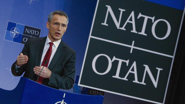 Jens Stoltenberg zu RT: NATO will nicht darüber spekulieren, wer den Hilfskonvoi beschoss
