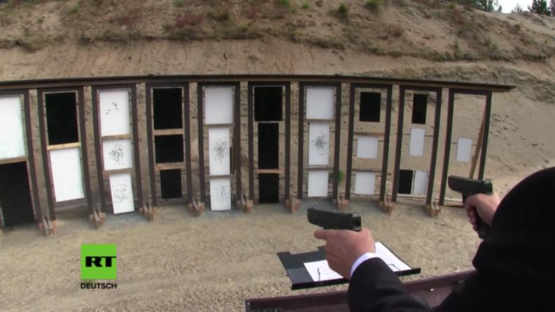 Waffen zu Instrumenten? Russischer Profischütze vertont Beethoven mit Pistolenschüssen