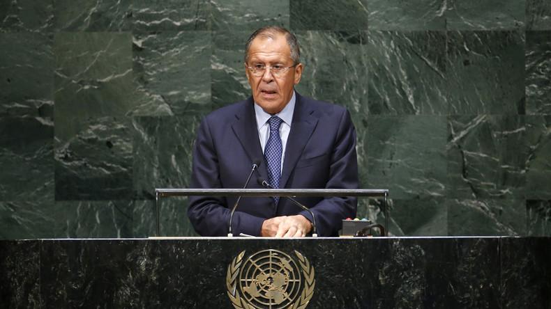 Rede des russischen Außenministers vor UN-Vollversammlung [deutsche Simultan-Übersetzung]
