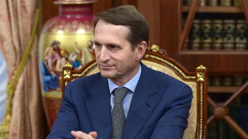 Russischer Geheimdienst baut um: Naryschkin ist neuer Chef des Auslandsnachrichtendienstes