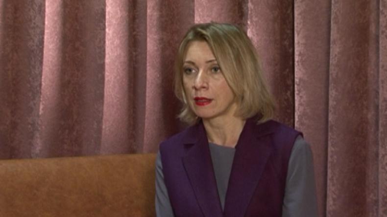 Maria Sacharowa: US-Moralapostelei über russischen Syrien-Einsatz ist nur Show