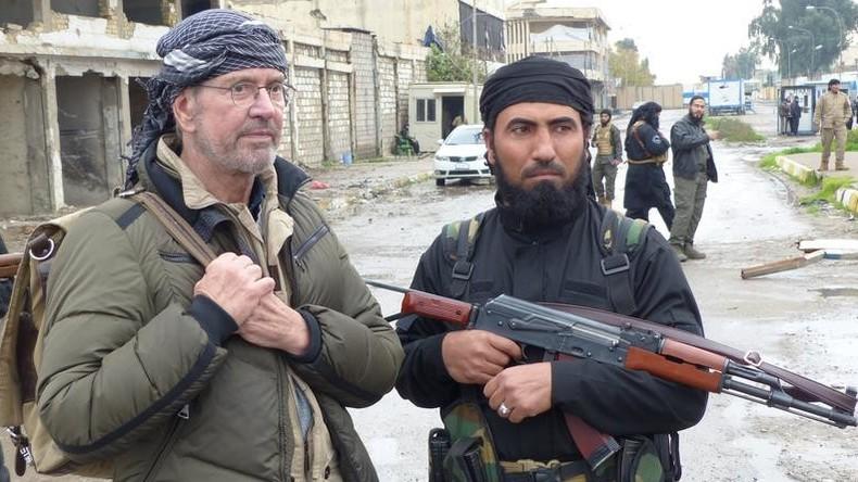 """Al-Nusra Kommandant zu Todenhöfer: """"Wir brauchen mehr Unterstützung von den USA"""""""