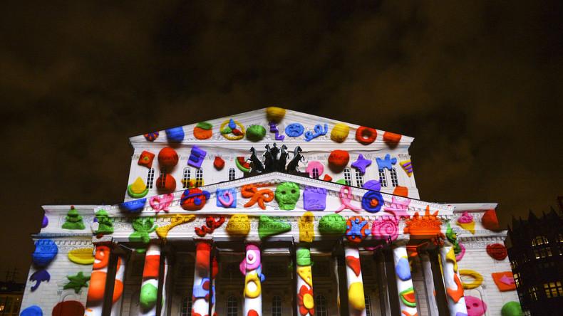"""Internationales Lichter-Festival in Moskau - """"Kreis des Lichtes"""""""