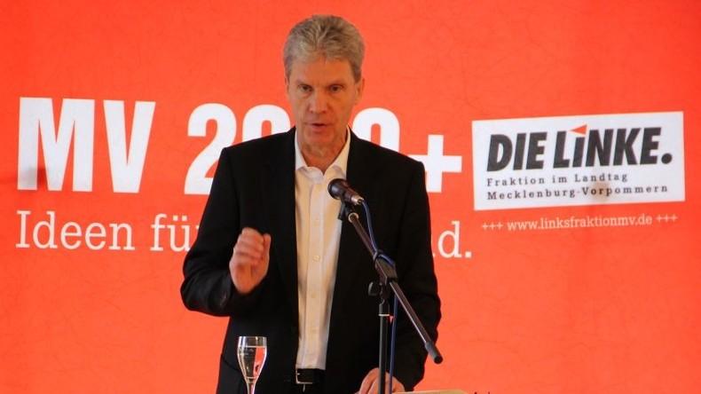 Mecklenburg-Vorpommern: Linken-Fraktionschef Helmut Holter abgesetzt