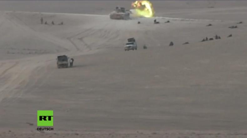 Syrien: Großoffensive gestartet - Syrisch Arabische Armee erobert Gebiet vom IS in Homs zurück