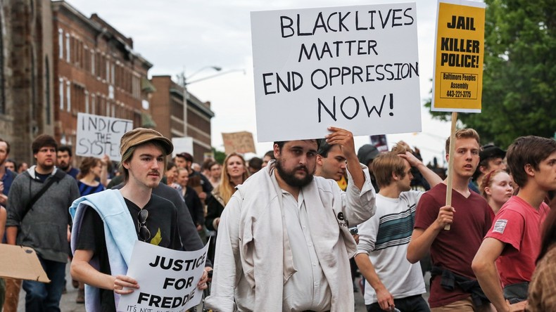 Black Lives Matter-Proteste in den USA.