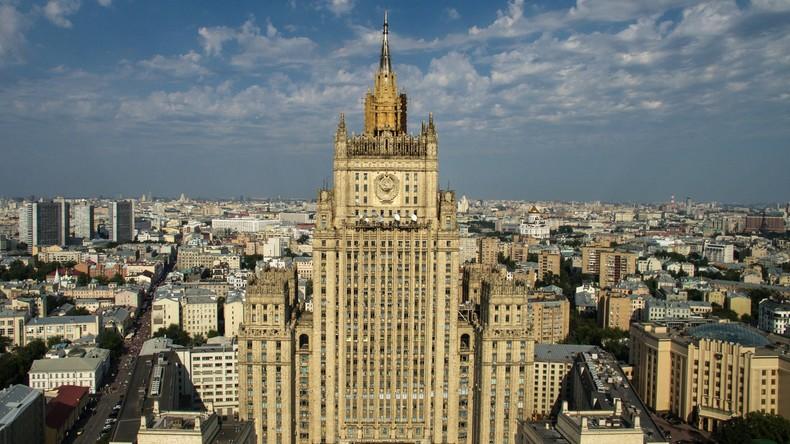 """Russlands Außenministerium antwortet dem State Department: """"Drohpolitik und Terror-Unterstützung"""""""