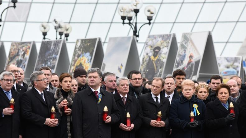 Bundespräsident Gauck gedenkt Holocaust in Kiew: Was man mit einer richtiger Tat falsch machen kann