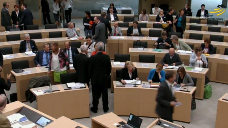 Live: Öffentliche Anhörung im baden-württembergischen Landtag zu Handelsabkommen CETA