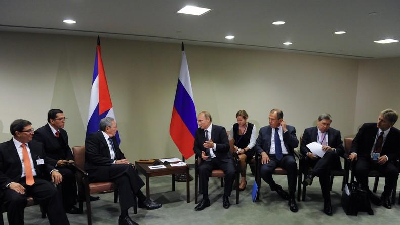 Russland bietet Kuba 55 Kooperationsprojekte im Wert von vier Milliarden US-Dollar an