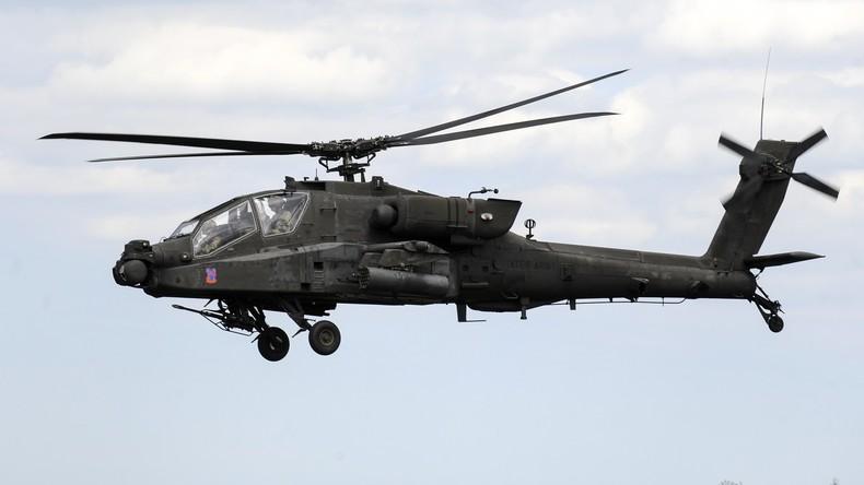 Ein Apache-Hubschrauber des US-Militärs. Künftig soll das Kontingent in Ansbach noch aufgestockt werden.