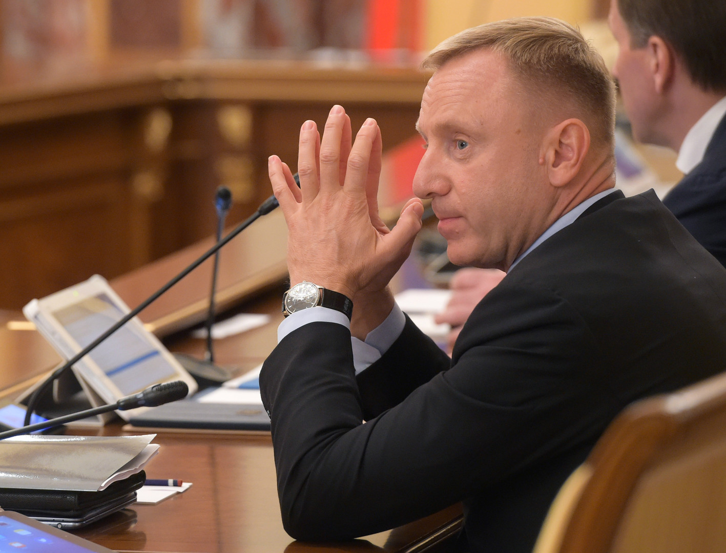 Minister für Bildung-und Wissenschaft, Dmitri Liwanow