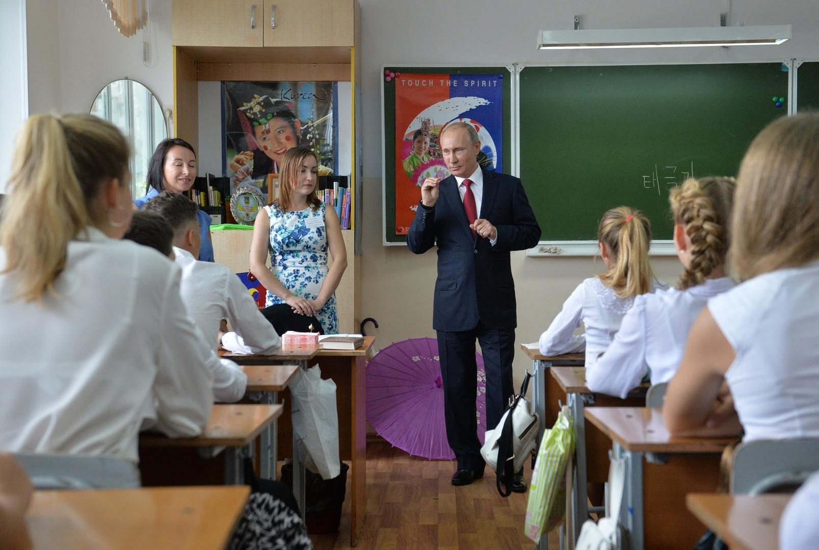 """""""Tag des Wissens"""": Neue Ministerin weckt Hoffnungen auf Verbesserung des russischen Schulsystems"""