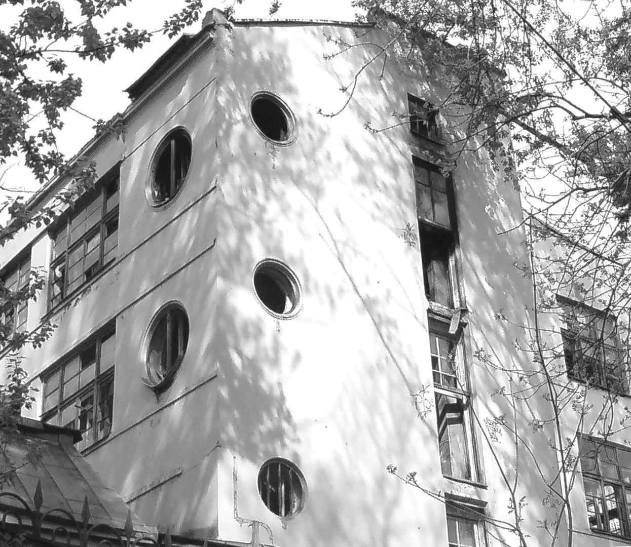 """Druckerei der Zeitschrift """"Ogonjok"""", 1932, El Lissitzky"""