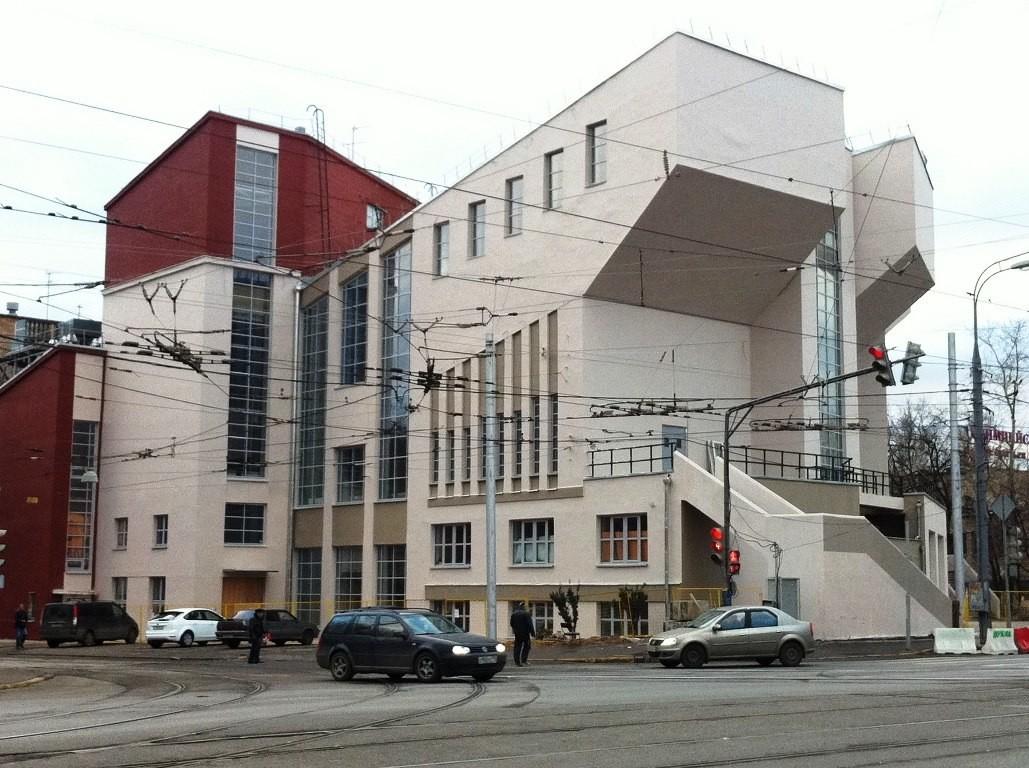 Rusakow-Arbeiterklub,  1927-1928, K. Melnikow