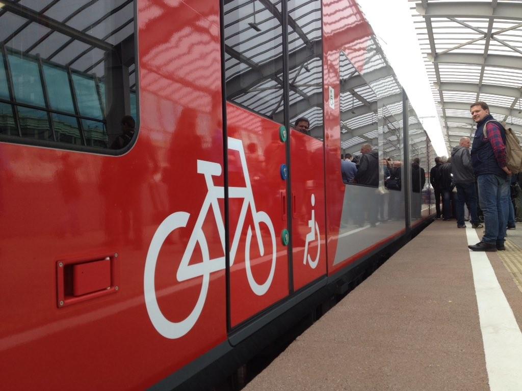Moskau wird fahrradfreundlicher - endlich genug Platz für Fahrräder in den Wagen.