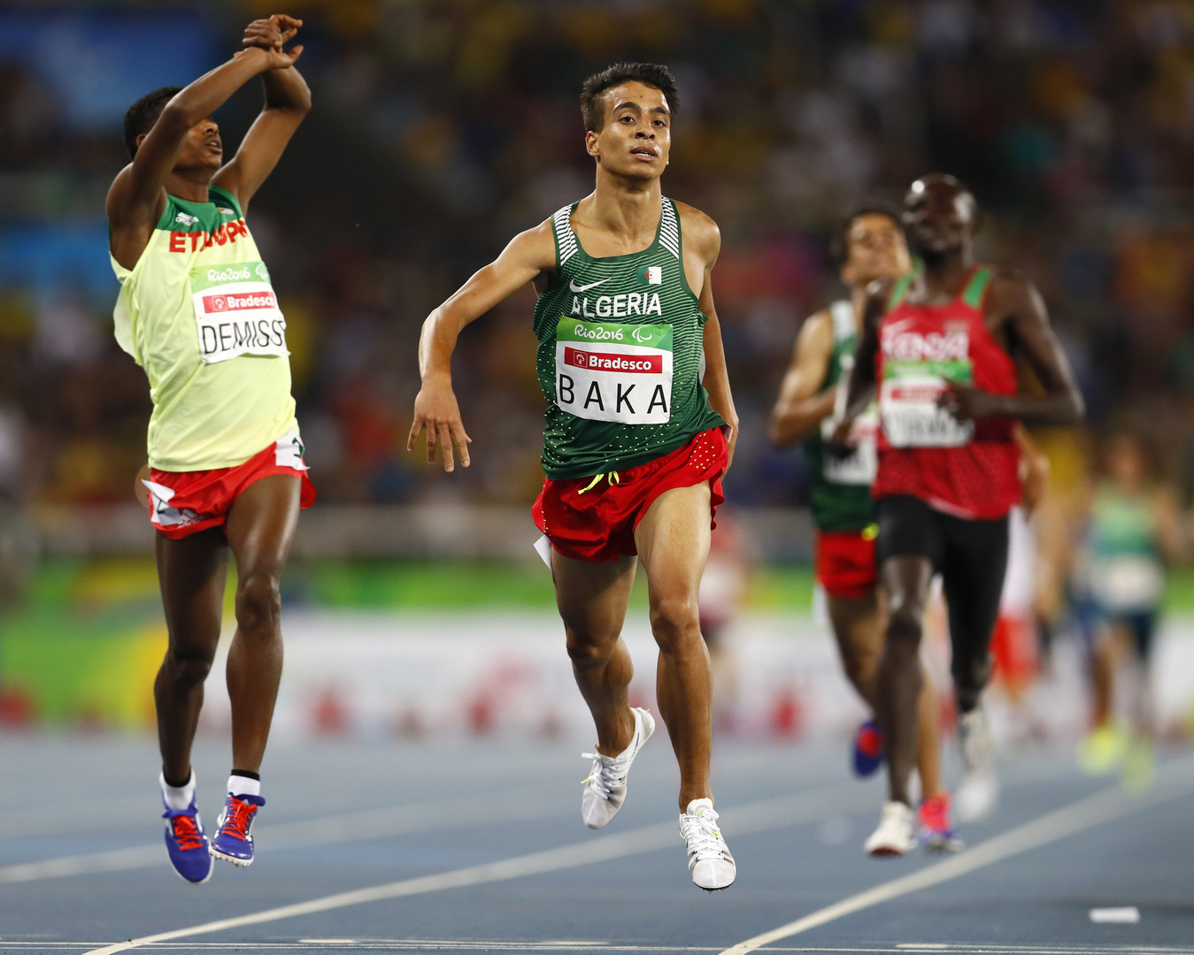 Paralympioniken rennen schneller als Olympiasieger