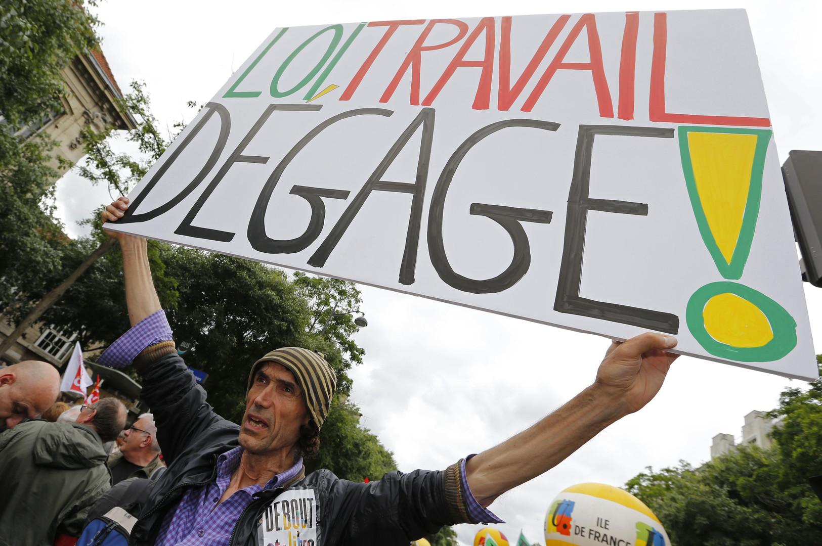 Frankreich protestiert gegen neues Arbeitsgesetz