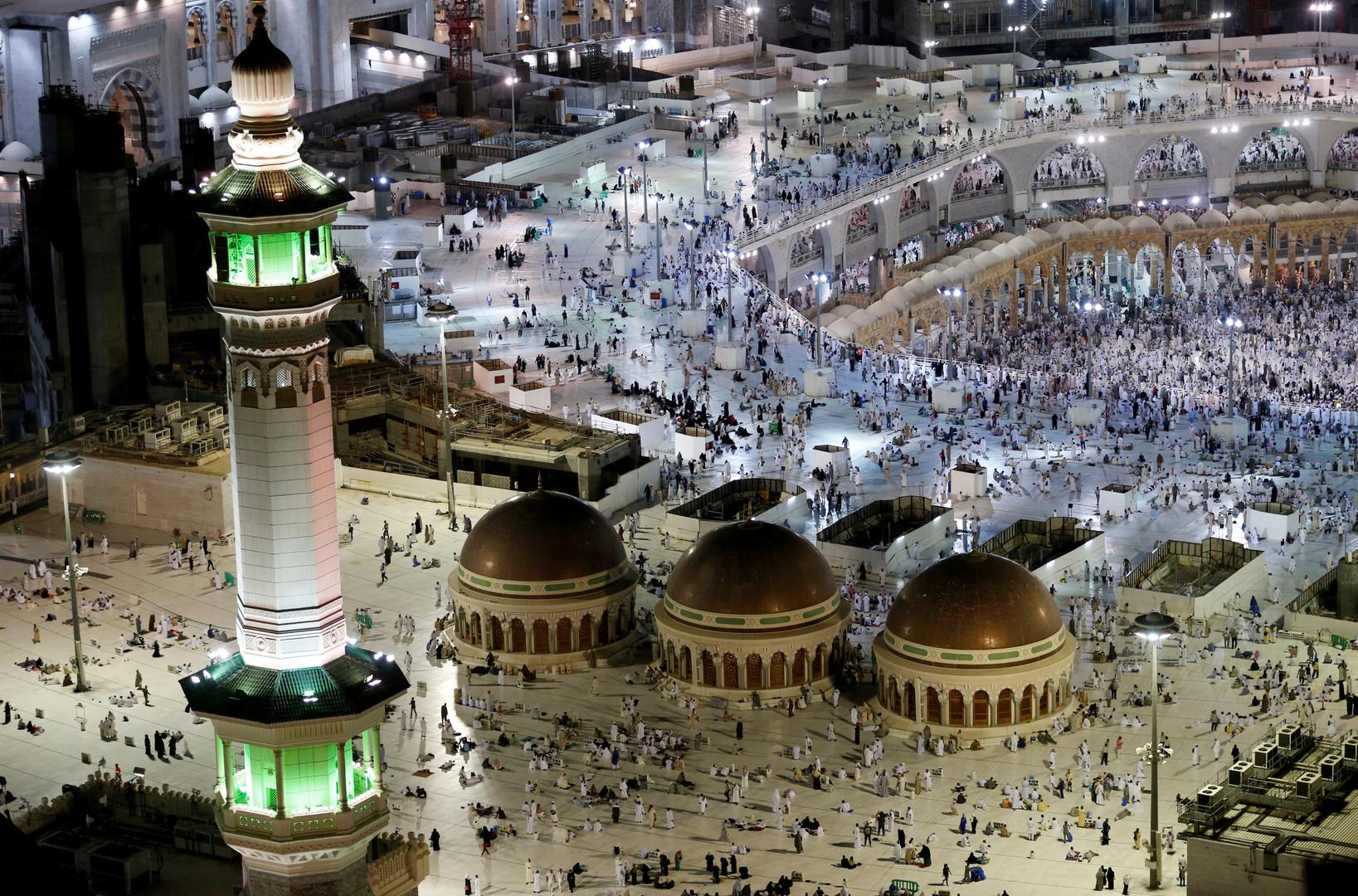 Blick auf die Große Moschee von Mekka