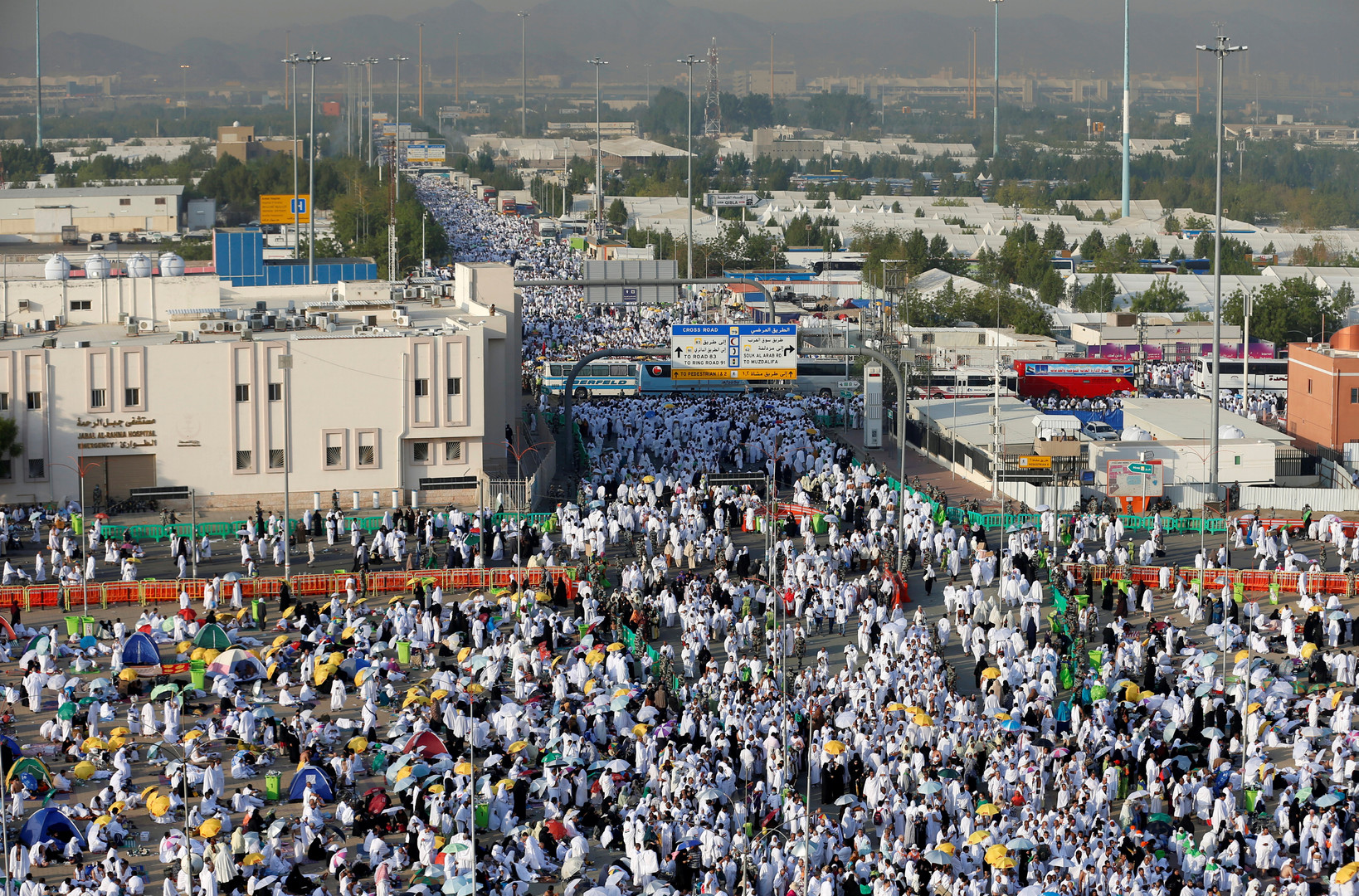 Pilgermassen in Mekka - Dieses Jahr ohne iranische Beteiligung.