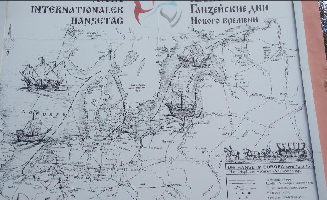 Ein Semester in St. Petersburg: Ausflug in eine russische Hansestadt –  Teil 1