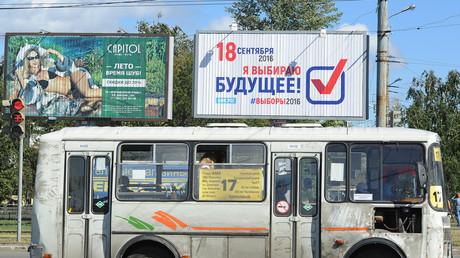 Wahlkampf in Tscheljabinsk (Ural)