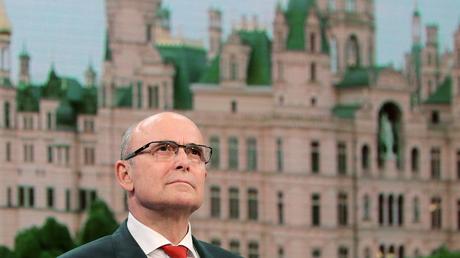 Bleibt wohl Ministerpräsident: Erwin Sellerings SPD erreicht am Ende  30,55 Prozent.