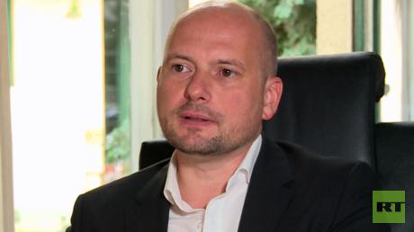 Martin Helmut Zumpf, Fachanwalt für Presse- und Medienrecht im RT Deutsch-Gespräch.